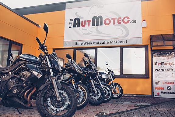 Motorradwerkstatt und Motorradhandel in Hilden bei Düsseldorf