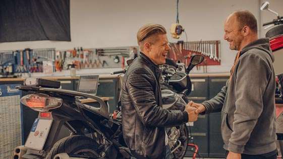 AutMotec freie Motorradwerkstatt in Hilden bei Düsseldorf